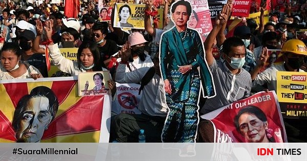 Demonstran Anti-Kudeta Myanmar Tewas, Ini Respon Indonesia