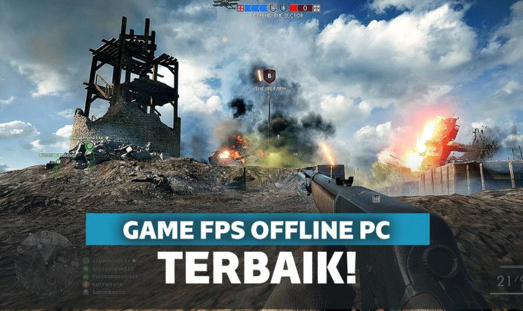 15 Game FPS Offline PC Ringan Terbaik 2021